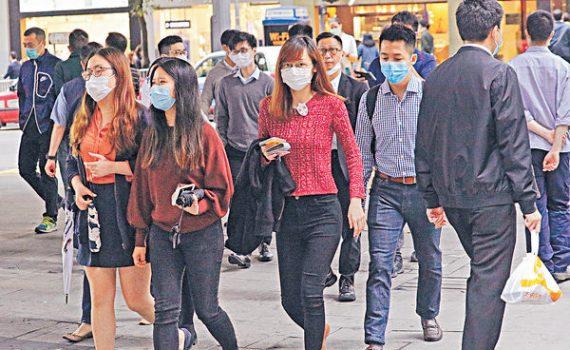 調查指8成港人 憂染新冠肺炎